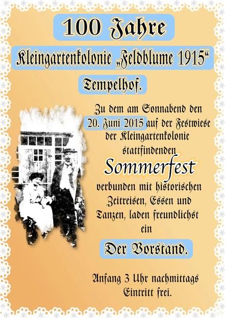 copyright KG Feldblume 1915